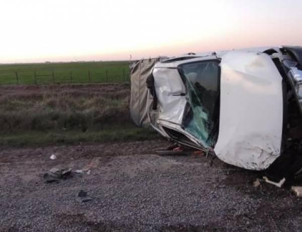 Fatal accidente en la Ruta 67