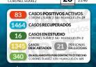 Situación de COVID-19 en Coronel Suárez - Parte 230 - 28/11/2020 21:40