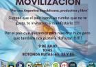 """Movilización """"Por una Argentina Republicana, productiva y libre"""""""