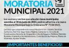 Se pone en marcha la Moratoria Municipal 2021