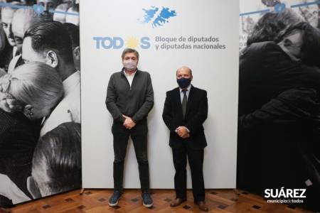 Ley Fría: Ricardo Moccero participó de la reunión con el bloque de Diputados Nacionales