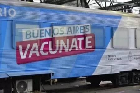 El Tren Sanitario de la Provincia comenzó su recorrido de 15 días por los andenes de la región